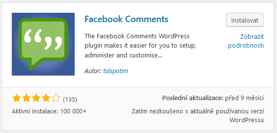 plugin Facebook Comments